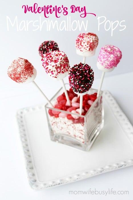 Valentine's Day Marshmallow Pop Bouquet