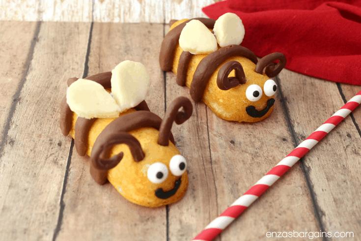 Bee Themed Food – Honey Bee Mine Valentines Cakes