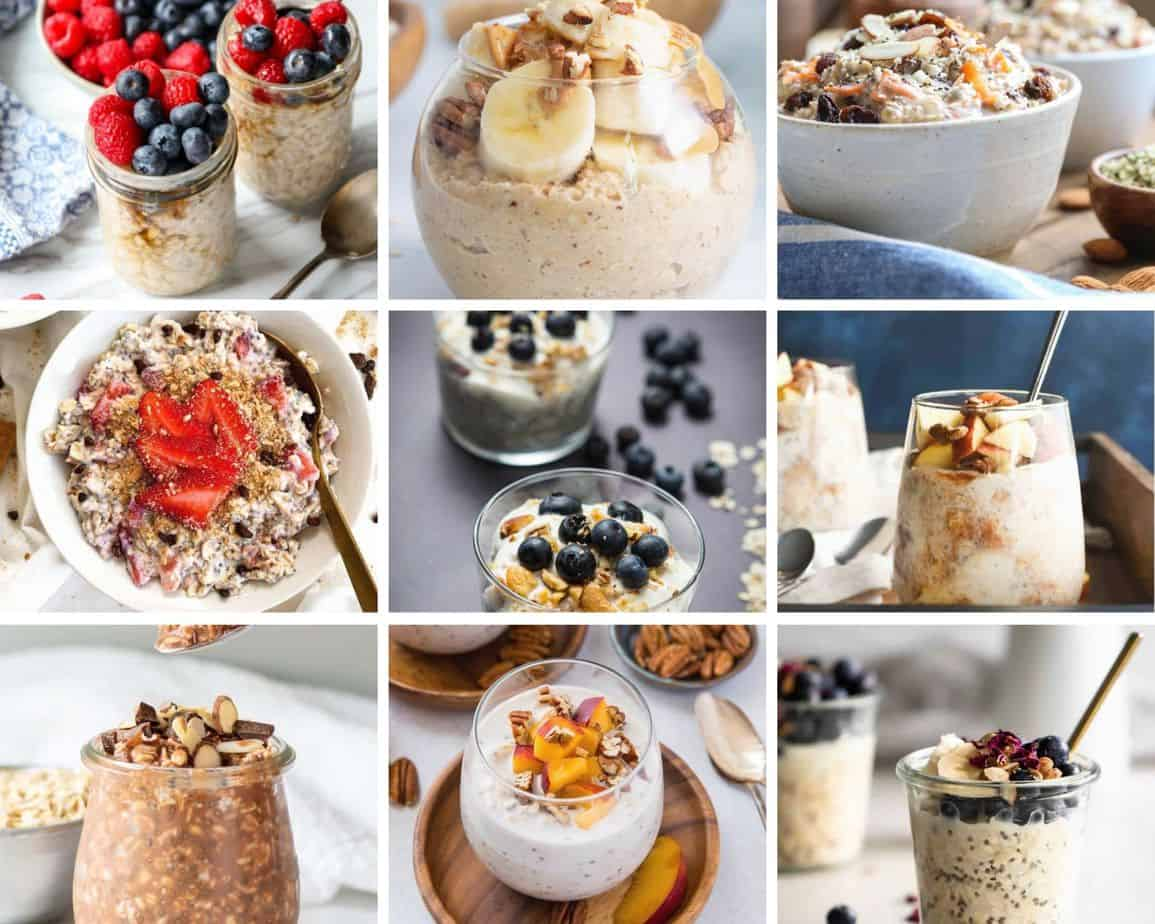 Overnight Oats Recipes: 30+ ideas for your mornings