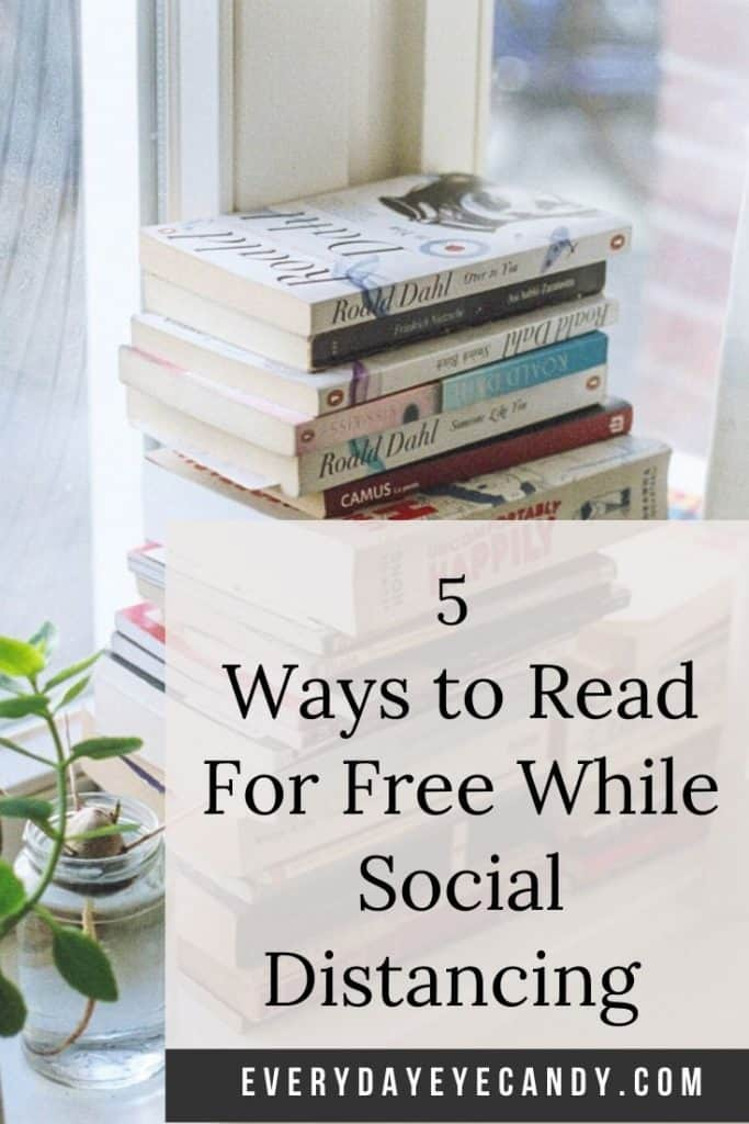 Ways to Read For Free While Social Distancing
