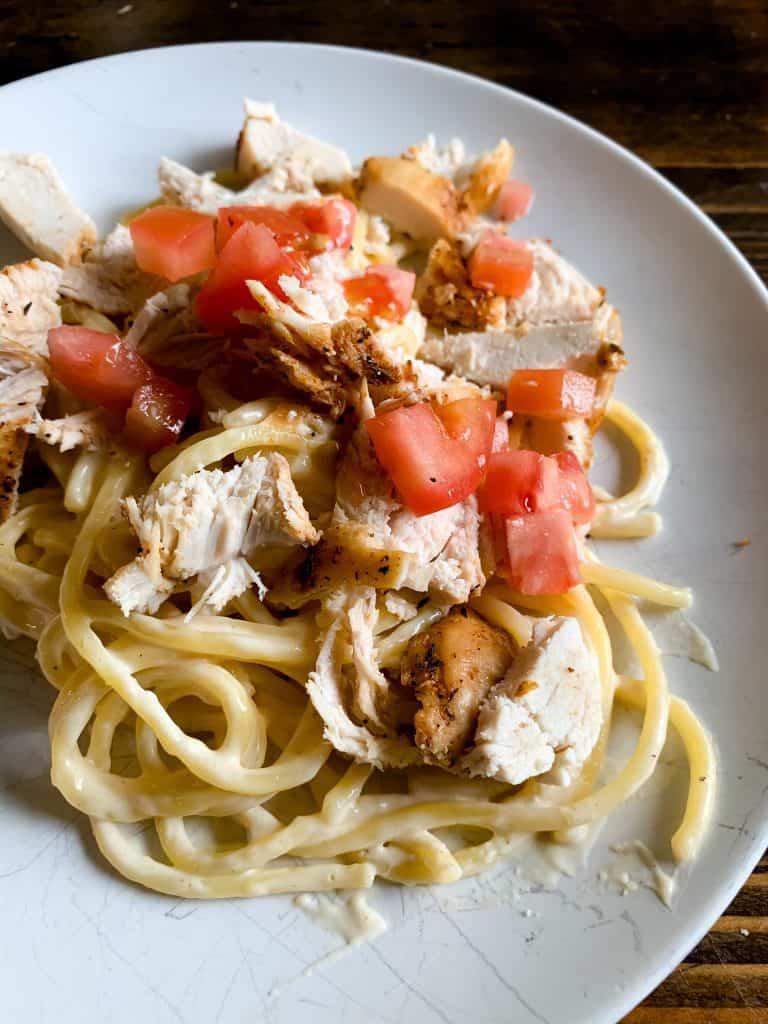 easy homemade chicken alfredo