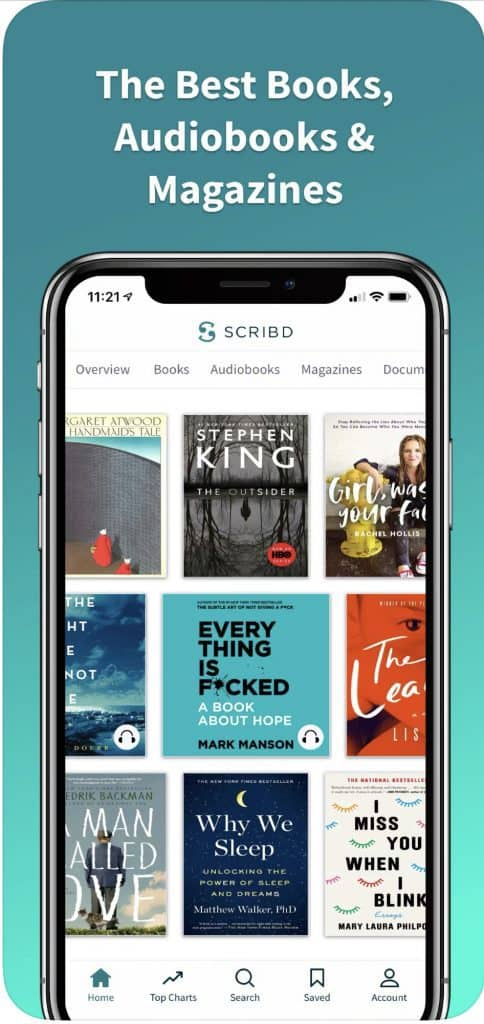 use scribd during social distancing for free