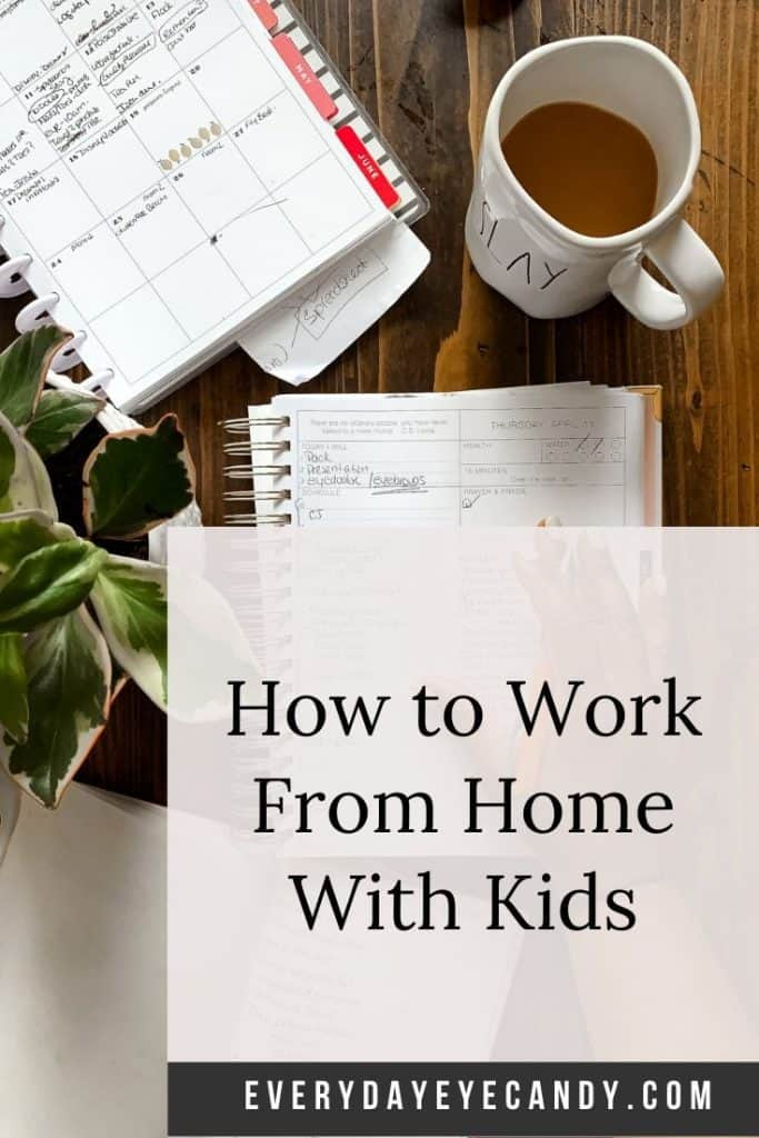 5 tips on how to work from home with kids