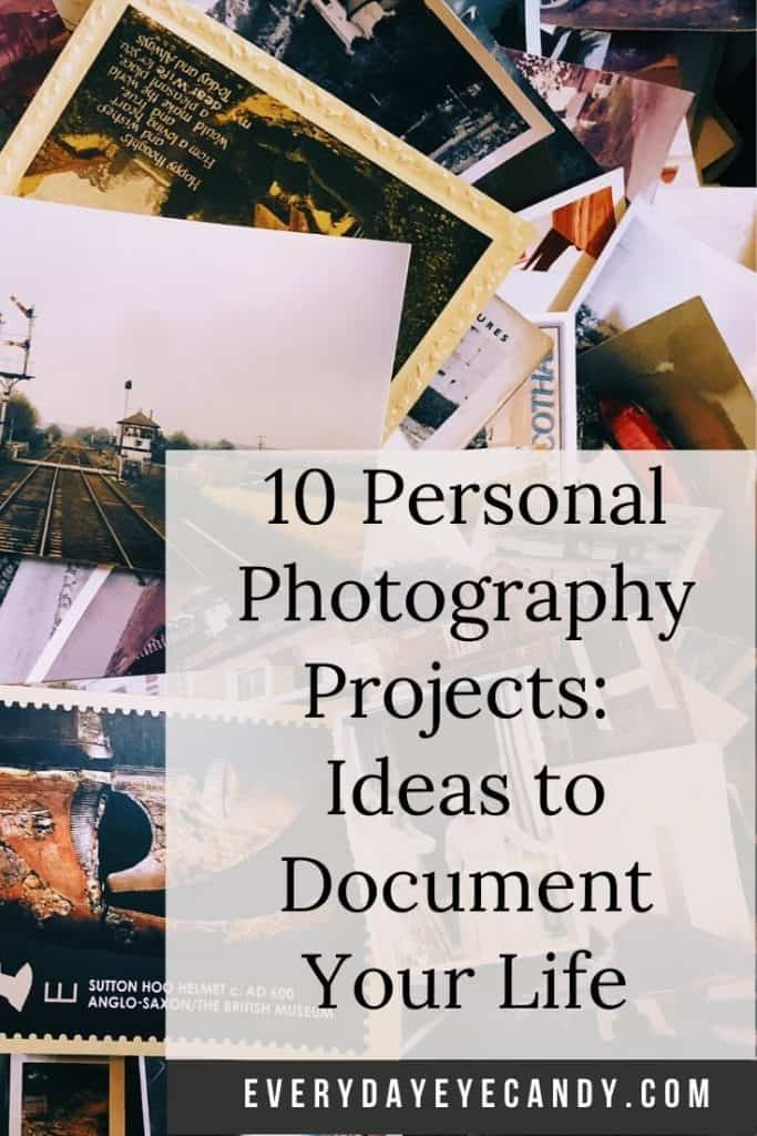 personal photography projects graphic