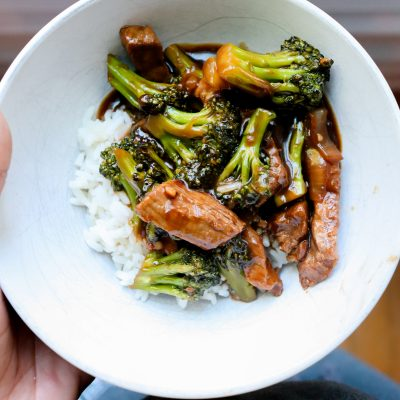 Gluten Free Beef and Broccoli Stir Fry