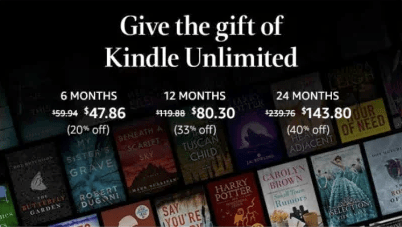 Kindle Unlimited Membership