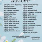 August Photo a Day prompts: Cherish Everyday 365