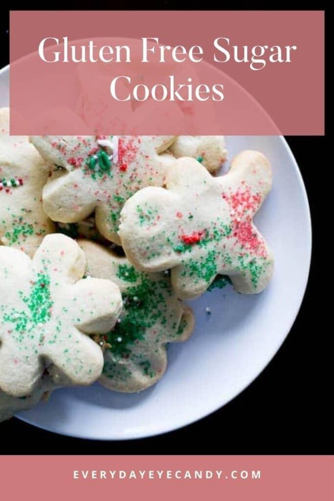 gluten free sugar cookies graphic