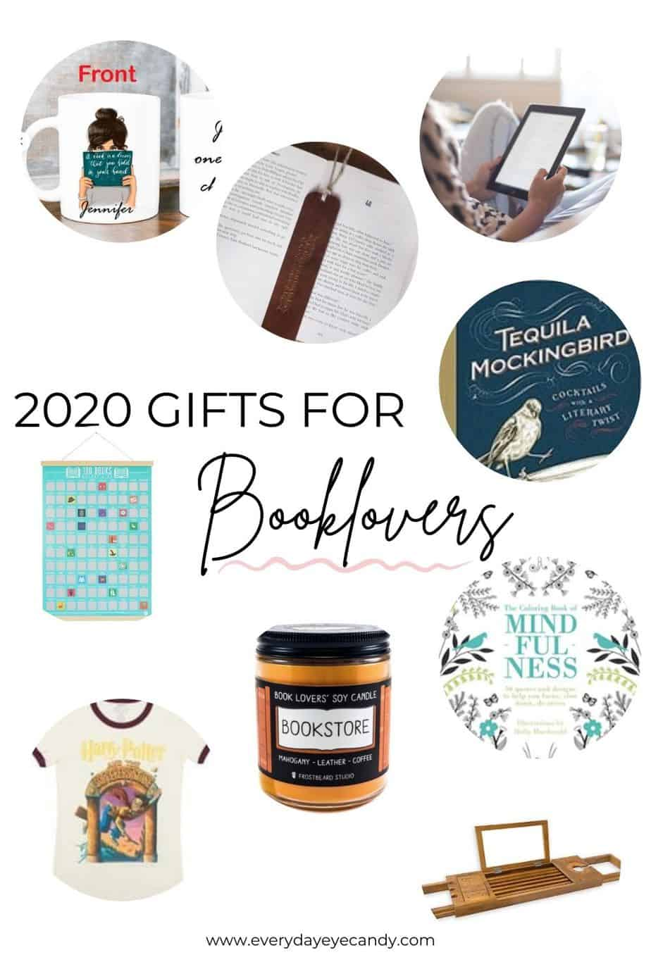 gifts for booklovers graphic