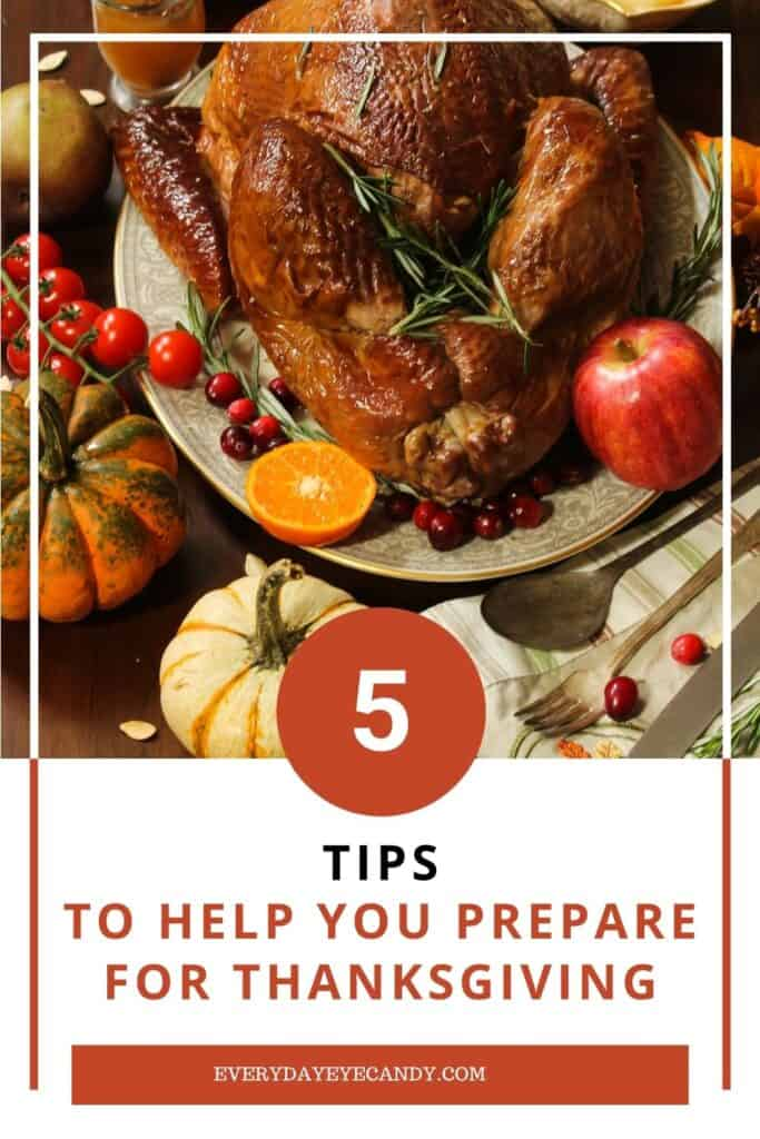 PREPARE FOR THANKSGIVING GRAPHIC