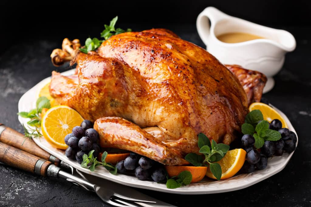 PREPARE FOR THANKSGIVING BY GETTING YOUR TURKEY