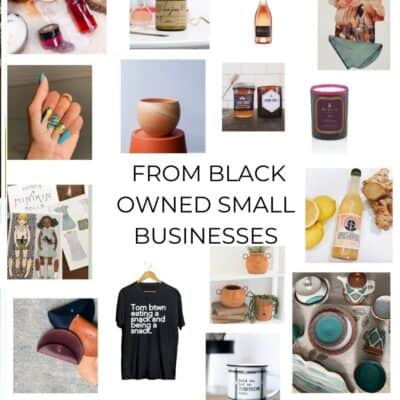 The Ultimate List of Gifts from Black Owned small Businesses
