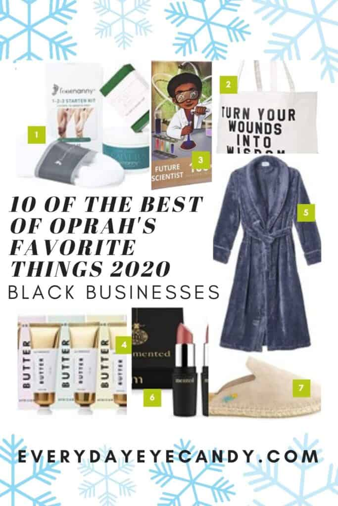 Oprahs Favorite Things list for 2020 is out and she has put Black Owned Businesses in the spotlight! Oprahs Favorite Things list for 2020 is out and she has put Black Owned Businesses in the spotlight! Check out 10 of my favs from the list!