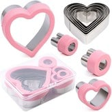 Heart Cookie Cutter Set,9