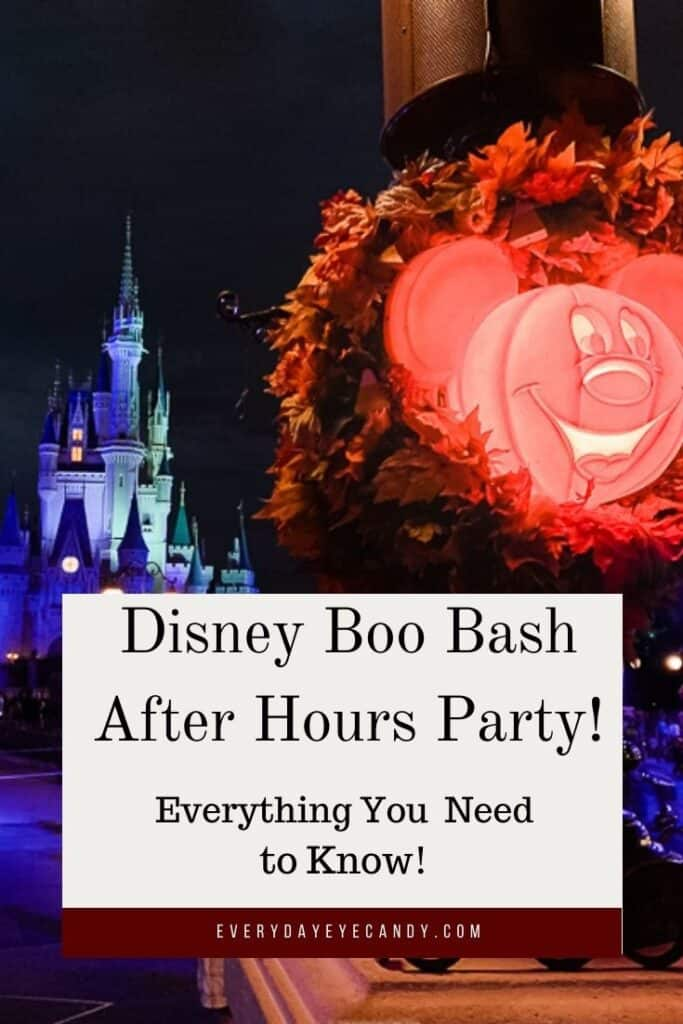 Mickey's Not So Scary Halloween Party is Being Replaced By Disney After Hours Boo Bash.Find out everything you need to know about this event.
