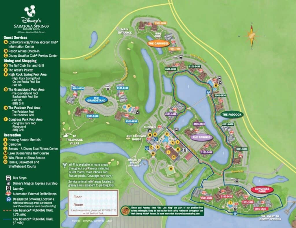 Map of saratoga