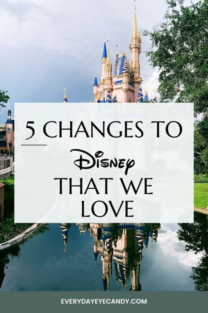 Many things have changed at Disney World since the pandemic! But most of them are not bad! Keep reading to find out the 5 Changes to Disney World that we love and hope that they keep!
